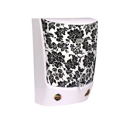 FLONIX FLORITO BLACK FLOWER WHITE WATER PURIFIER